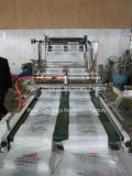 Máquina de hacer Four-Line bolsa de plástico con cinta transportadora automática