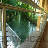 Сетка веревочки нержавеющей стали гибкая для обеспеченности сада