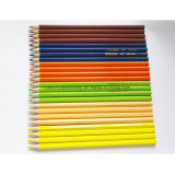 24PCS 승진 선물을%s 나무로 되는 색깔 연필
