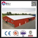 Oficina/armazém pré-fabricados do edifício da construção de aço/vertido (BYSS051218)