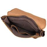 Saco de couro real de venda quente do mensageiro do Satchel do estilo do vintage