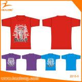 Людей сублимации китайской поставки качества Hight поставщиков быстрой конструкция рубашек изготовленный на заказ и тенниска хлопка
