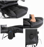 8 puntos de masaje de calentamiento de la vibración de la silla de oficina