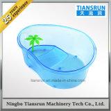 Ciotola libera di plastica della tartaruga dei pesci per il Tortoise del terrazzo del rettile