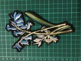 Nuovi il fiore ricamato dell'indumento accessori rattoppa la zona Ym-6 del ricamo
