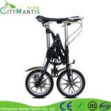 '' bicicleta urbana Foldable de dobramento velocidade portátil da bicicleta 14 da única
