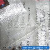 Sac tissé par pp transparent de la Chine de vente chaude
