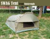 Im Freien kampierendes Segeltuch mit Fiberglas-Poleswag-Zelt