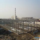 Edificio prefabricado galvanizado peso ligero de la estructura de acero de la alta calidad con la viga de H