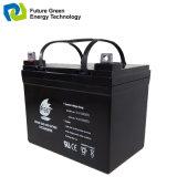 12V 4ah nachladbares Leitungskabel-saure Notbatterie AGM-SLA