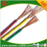 Fumée inférieure ignifuge. Câbles de câblage isolés par PVC de Chambre