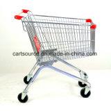 Laufkatze-europäische Art-Rasen-Laufkatze des Einkaufen-90L