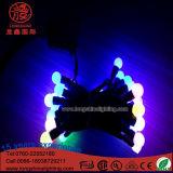 Luz impermeável da corda da esfera do diodo emissor de luz para a decoração ao ar livre do Natal