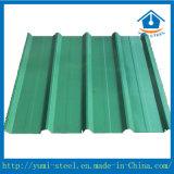 지붕 클래딩을%s 주름을 잡고 Prepainted 강철 금속 장
