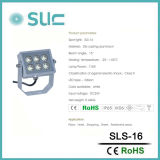 Lumière imperméable à l'eau d'endroit de 7.5W DEL pour l'éclairage d'horizontal (SLS-16)