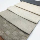 Teñido de hilados de Jacquard 100% poliéster textil hogar Sofá almohada Tapizados