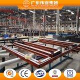 China de aluminio Fábrica de Casement Ventana con mosquitero