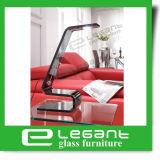 Grau verbogene Glastisch-Lampe mit 3W LED Licht