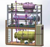 Conjunto eléctrico de la calefacción del petróleo termal