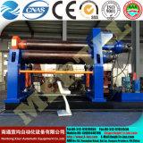 Machine hydraulique de laminage des métaux de la feuille W12/machine de roulement pour la machine de roulement de feuille/feuillard
