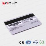 O cartão de membro de RFID de código de barras com MIFARE (R) Chip de 1K