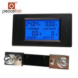 Fabricante de alimentação DC 100uma tensão de LCD de 4 em 1 Medidor de energia elétrica de alimentação de corrente