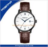 時間の表示OEMの標準的で旧式な様式の日本自動動きの腕時計