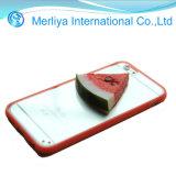 かわいいフルーツのiPhone 4/5/6のためのアクリルの電話箱