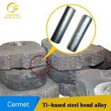 Hete Verkoop in de Maalmachine die van de Kaak van Vietnam Tussenvoegsels van het Cermet van de Materialen van Delen de Titanium carbide-Gebaseerde dragen