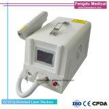 Bewegliche Q-Switched 1064nm u. 532nm Nd YAG Laser-Tätowierung-Abbau-Maschine