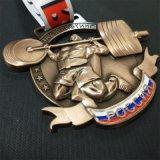 Fabriquer Sur mesure Personnalisée médaillon métal 3D pour les épreuves sportives