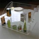 明確なプラスチックアクリルの装飾的な収納箱かケース