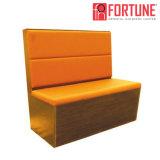販売(FOH-XM34-631)のための新しい様式の現代デザインカスタム革レストランブースのソファー