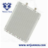 Impulsionador do sinal do telefone de pilha da Tri-Faixa GSM900 Dcs1800 WCDMA2100