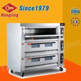De grote Oven van het Gas van de Pizza van de Apparatuur van de Bakkerij van het Brood van de Capaciteit Professionele