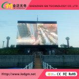 La publicidad comercial al aire libre a todo color de LED HD P10mm Video muro/valla/Panel