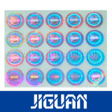 Custom водонепроницаемый голографических Anti-Counterfeiting Голографическая наклейка