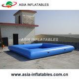 raggruppamento gonfiabile della tela incatramata del PVC di 0.9mm grande, raggruppamento gonfiabile di figura quadrata blu per affitto