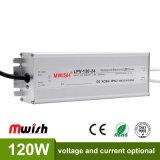 DC24V 120W Wechselstrom wasserdichten LED Aluminiumfahrer zum Gleichstrom-SMPS IP67