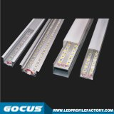 Lumière de bande en aluminium du profil DEL, extrusion en aluminium du profil DEL, lumière en aluminium de profil de la Manche DEL de l'extrusion DEL de DEL