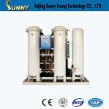 Baja de alta pureza bajo consumo de energía de punto de rocío estable generador de nitrógeno para el tratamiento térmico