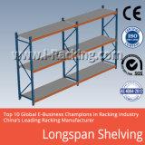 Shelving industrial de Longspan da prateleira da alta qualidade do armazém do metal da cremalheira da pálete do armazenamento
