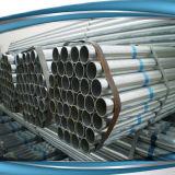 Gi-Rohr/heißes eingetauchtes galvanisiertes Gefäß-Stahlrohr, Material des Baugerüst-Q235