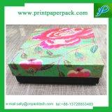 Коробка коробки ткани подарка бумаги крышки упаковывая шикарная бумажная