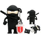 Regali di vendite all'ingrosso dell'azionamento dell'istantaneo del USB di Ninja del guerriero