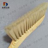 製造業者は木のハンドルの柔らかく自然な剛毛の家のベッドのクリーニングの塵のブラシをカスタマイズした
