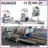 Machine de découpage de guichet en aluminium de Jinan Parker