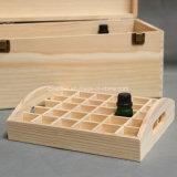 Rectángulos sólidos de encargo de la botella de petróleo esencial de madera de pino