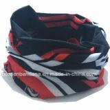 I prodotti della fabbrica hanno personalizzato il poliestere viola Tubies multifunzionale Headwear della stampa di marchio