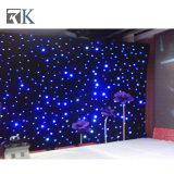 販売のためのLEDの星のカーテンまたは結婚式の装飾か黒い背景幕ライト